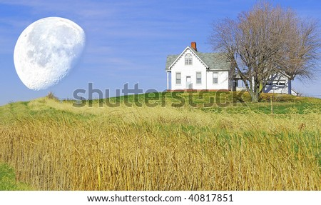 little house on the hill