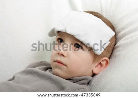 Little illness child medicine flu fever healthcare