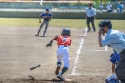Little league baseball game