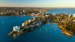 Little Manly Point drone photography