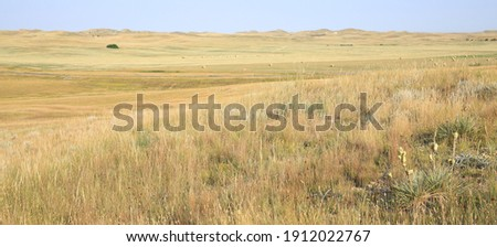 Little Missouri National Grassland in North Dakota, USA Foto stock ©