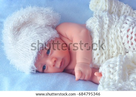 Little newborn baby