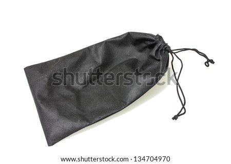 little packet bag isolated background - stock photo