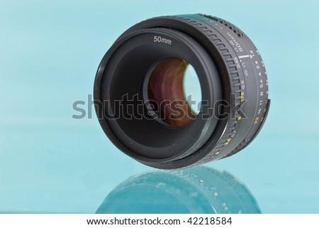 Little prime lens close-uo #42218584
