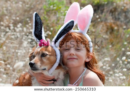 Her Pet Dog Dressed up as