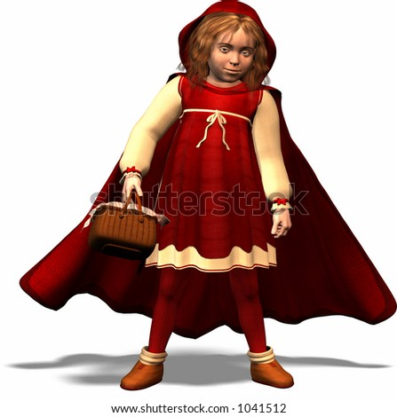 Little Red Riding Hood Stock foto ©
