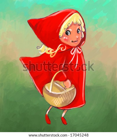 little red riding hood (search the word nikos for more)