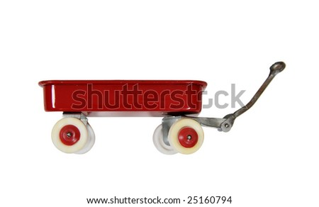 Little red wagon brings back memories of childhood