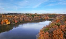 Little Seneca Lake at Black Hill Reginal Park Part of Clarksburg - Maryland, USA