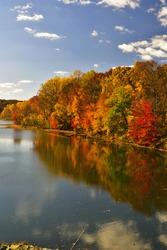 Little Seneca Lake in Autumn
