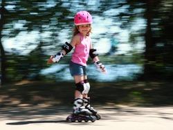 Little sportswoman