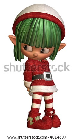 Little sulky elf