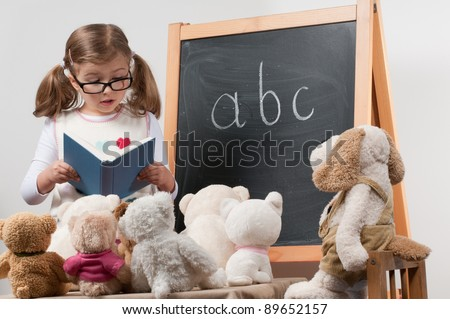 Little teacher - lesson (no-name toys)