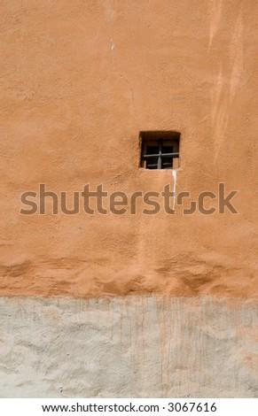 Little window on a wall