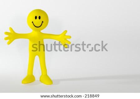 Little Yellow Man Stock Photo 218849 : Shutterstock