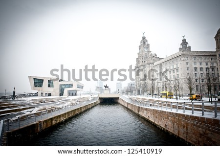 Liverpool Waterfront in the Winter