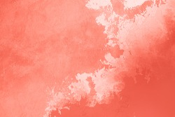 Living Coral abstract background. Color of the year 2019. Main trend concept.