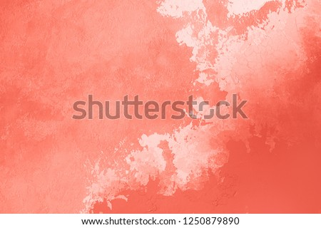 Living Coral abstract background. Color of the year 2019. Main trend concept. #1250879890