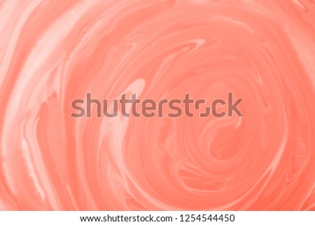 Living Coral paint texture. Creative concept of color of the year 2019. 16-1546