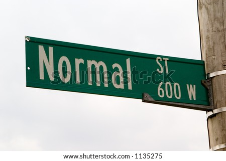 living on 'normal' street