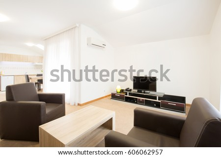 Living room apartment interior design #606062957