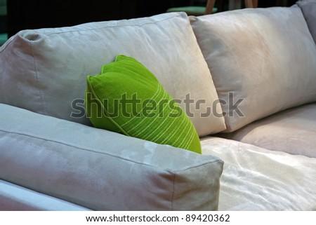 Living room furniture. Home interior furniture set.