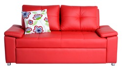 Living room furniture. Isolated