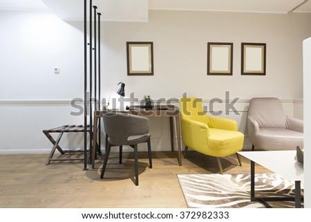 Living room interior #372982333