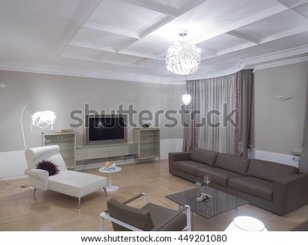 Living room interior #449201080