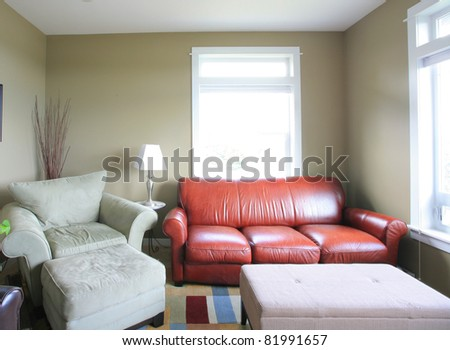 Living Room Interior in Home