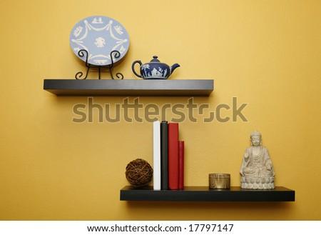 Shelving for living room walls