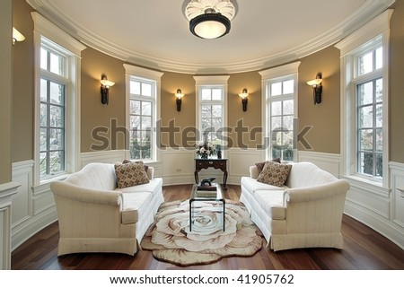 living room with wall sconces stock photo 41905762 shutterstock