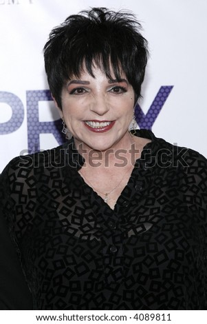Liza Minnelli attends the New York Premiere of New Line Cinema's 'Hairspray The Musical' at the Ziegfeld Theatre on July 16, 2007 in New York City.