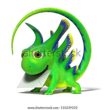 Lizard postman
