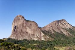 Lizard stone in the city Domingos Martins, State of Espírito Santo, Brazil.