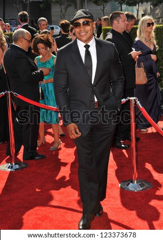 LL Cool J at the 2012 Primetime Creative Emmy Awards at the Nokia Theatre, LA Live. September 15, 2012  Los Angeles, CA Picture: Paul Smith
