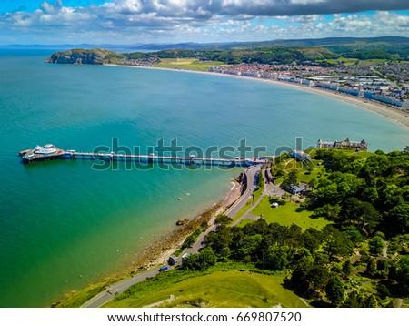 Llanduno Pier Wales #669807520