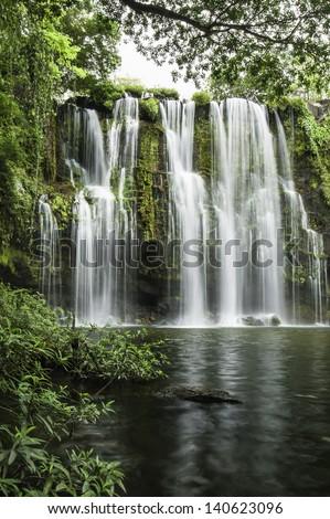 Llanod de Cortez Waterfall located in Costa Rica.