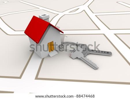 llaves y casa
