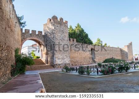 Llerena wall, Badajoz town, Spain