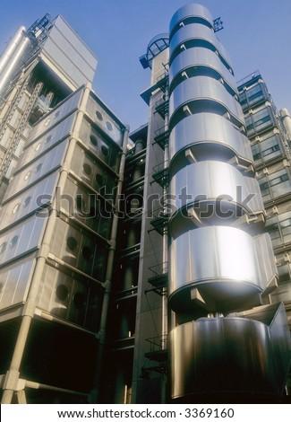 lloyds of london insurance company building london england uk europe