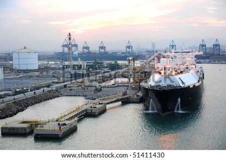 LNG terminal in Barcelona