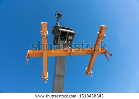 Load lifting device in a harbor #1518458345
