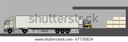 Load/unload activities in warehouse