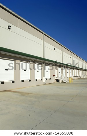 Loading Docks at a Large Commercial Warehouse