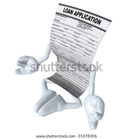 Loan Application Meditation