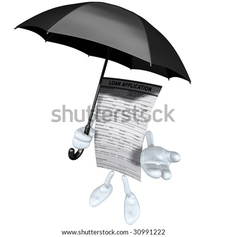 Loan Application With Umbrella
