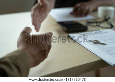 LOAN Business and finance Business loan agreement real estate, home loan and investments. BLUR