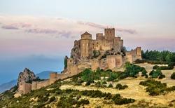 Loarre Castle romanesque defensive fortification medieval romanic Huesca Aragon Spain