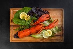 Lobster from Newfoundland, Eastern Canada